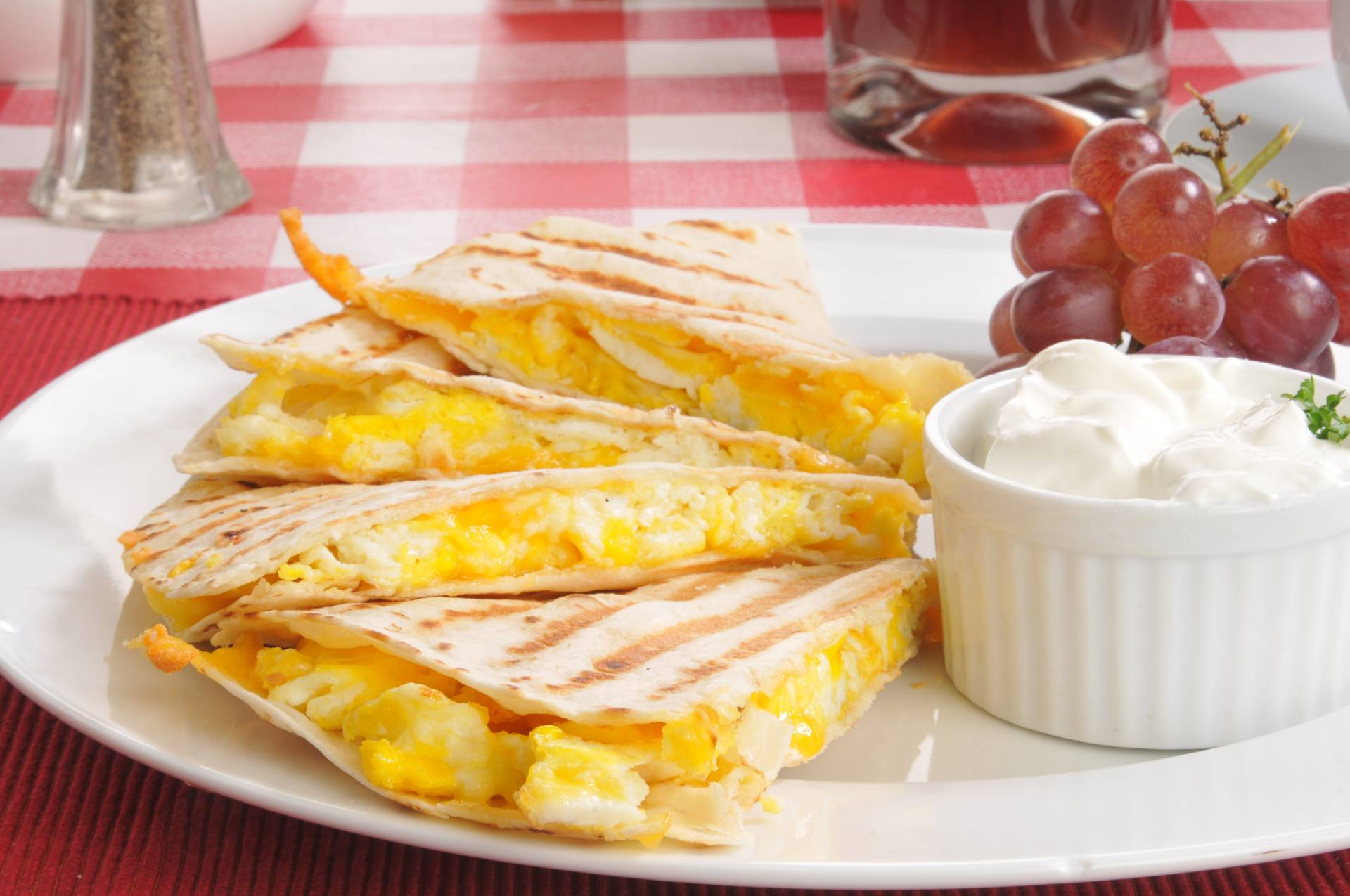 Quesadillas con Huevo